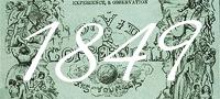 1849 - David Copperfield is serialised