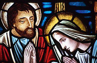 20 - Mary and Joseph