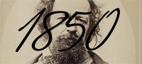 1850 - Tennyson made Poet Laureate