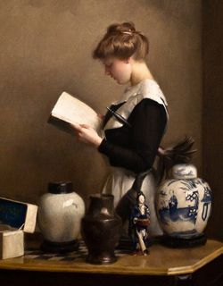 William McGregor Paxton - The Housemaid, 1910