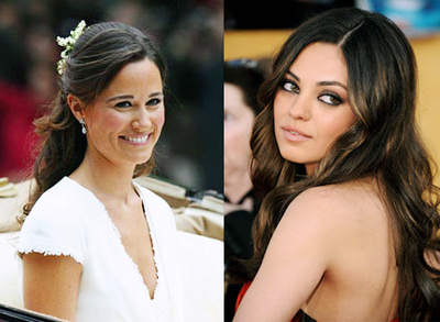 Philippa 'Pippa' Middleton and Mila Kunis
