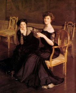 William McGregor Paxton - The Sisters, 1904