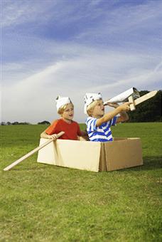 June - twins sailing