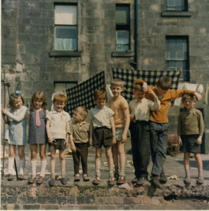 Scottish schoolchildren 1970s