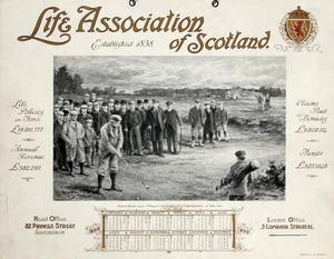 A Life Association of Scotland 1900 Calendar