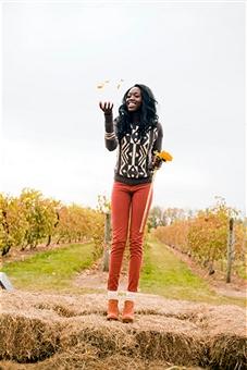 October vinyard