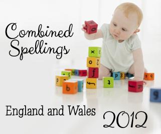 Combined Spellings 2012