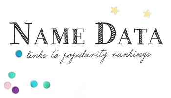 Name Data - British Baby Names