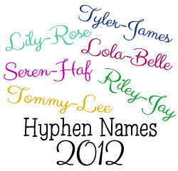 Hyphen Names 2012