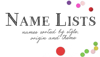 Name Lists - British Baby Names