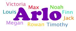 Common siblings for Arlo