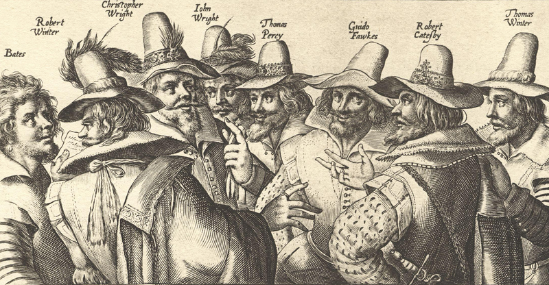 Gunpowder conspirators