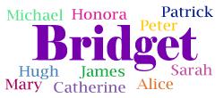Common siblings for Bridget