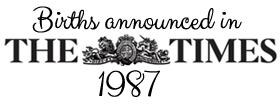 Times 1987