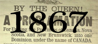1867 - The Canadian Confederation