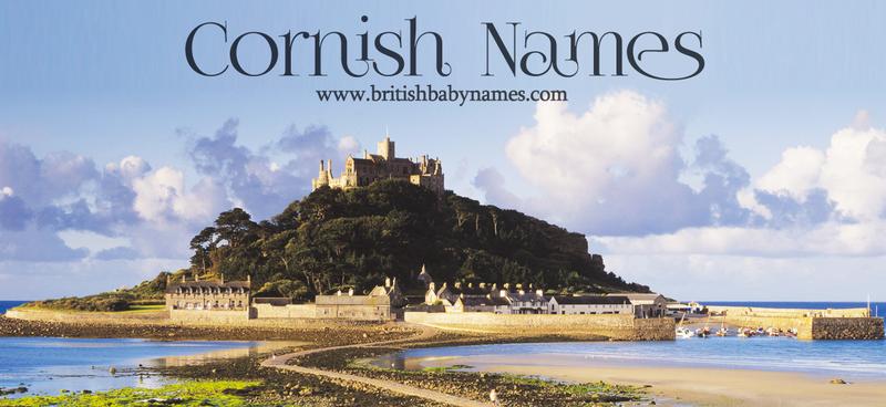 Cornish Names British Baby Names