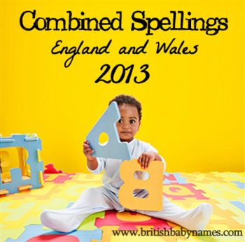 Combined Spellings 2013