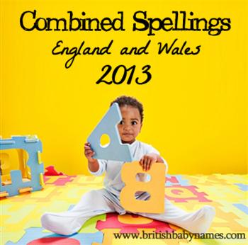 Combined Spellings 2013