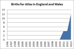 Births for Atlas