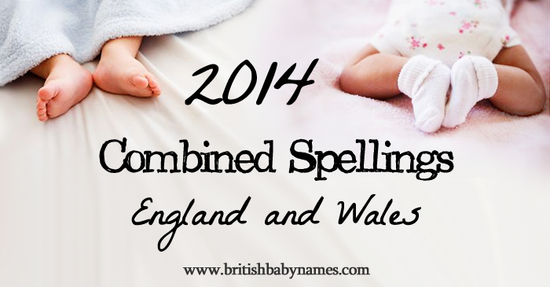 Combined Spellings 2014
