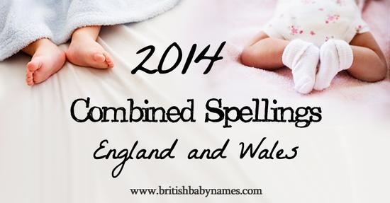 Combined Spellings 2014
