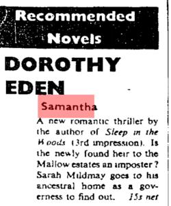The Observer; Jan 15 1961