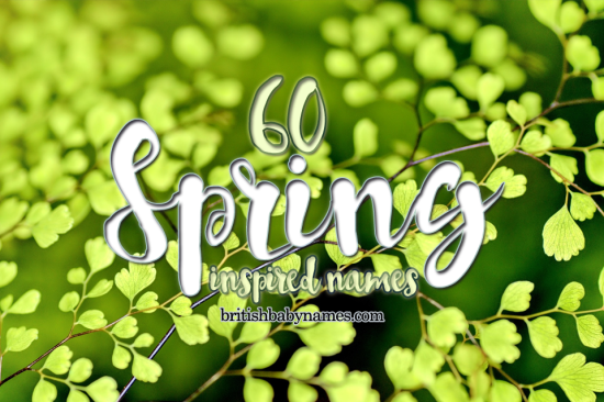 60 spring inspired names british baby names 60 spring names mightylinksfo
