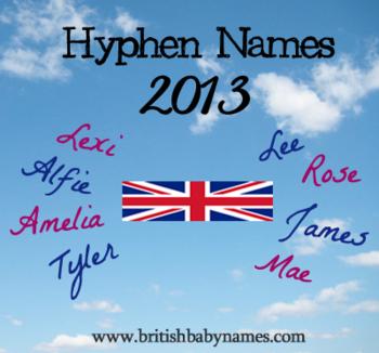 Hyphen Names 2013