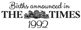 Times 1992