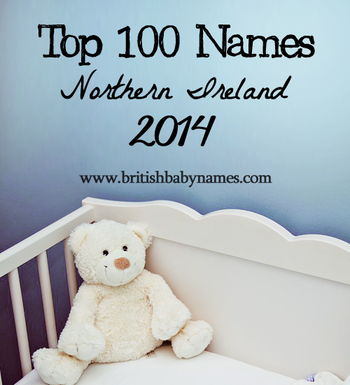 Top 100 Names Northern Ireland 2014