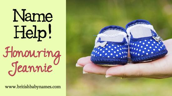 Name Help - Honouring Jeannie