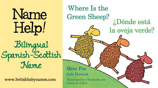 Name Help - Scottish-Spanish name