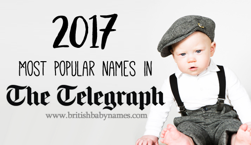Most popular Telegraph names 2017