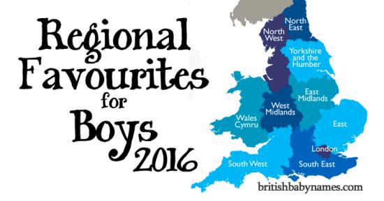 Regional Favourites Boys 2016