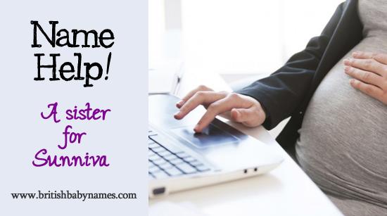 Name Help - Sister for Sunniva