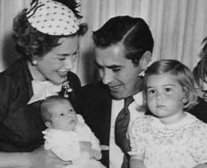Tyrone Powers with family