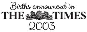 Times 2003