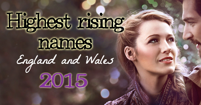 Highest Rising Names 2015