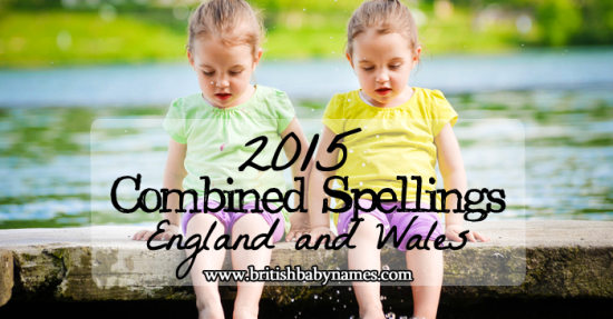 Combined Spellings 2015