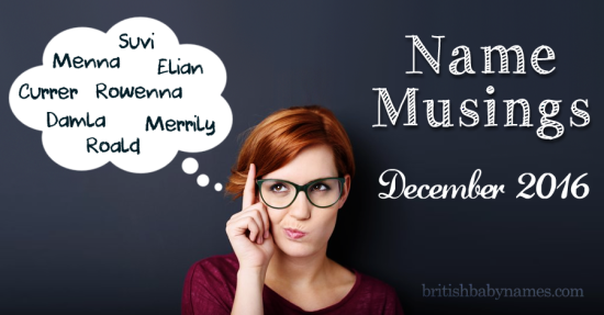 Name Musings December 16