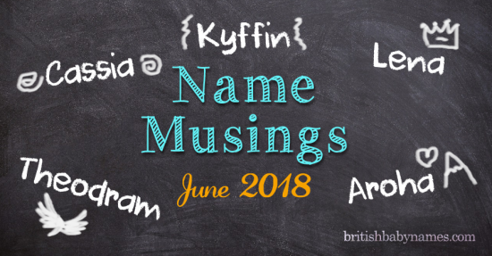 Name Musings June 2018