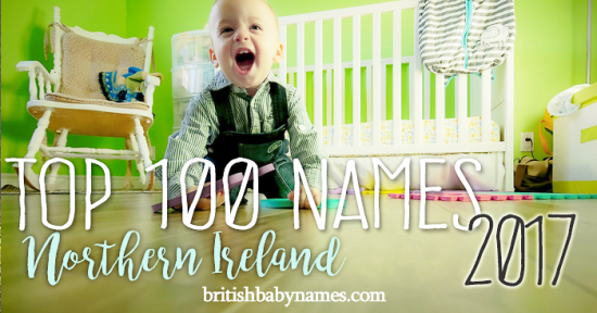 Top 100 Names Northern Ireland 2017