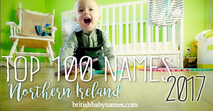Top 100 Names Northern Ireland 2017