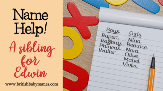 British Baby Names: Name Help