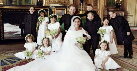 Prince Harry Attendants