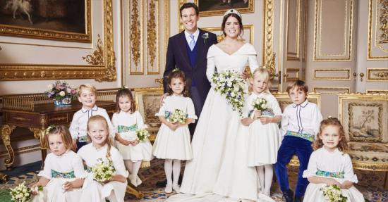 Princess Eugenie Attendants