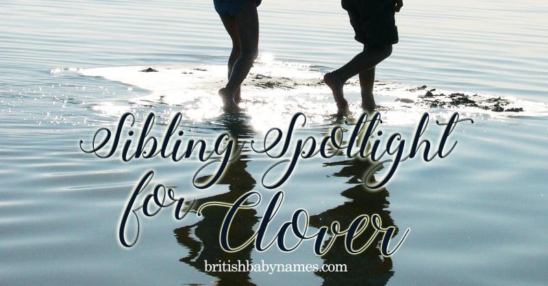 Sibling Spotlight Clover
