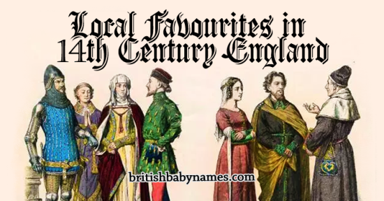 Local Favourites in 14th Century England