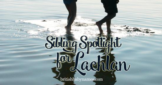 Sibling Spotlight Lachlan
