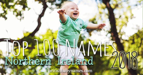 Top 100 Names Northern Ireland 2018